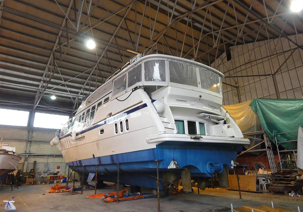 recent projects bow thruster all boat services
