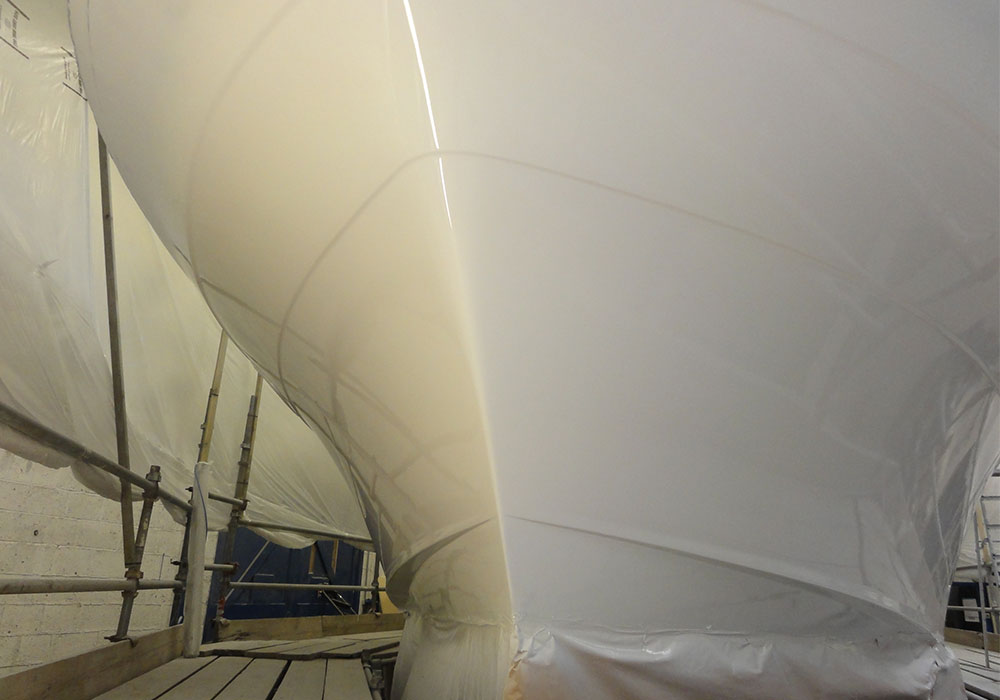 trader 44 recent project all boat services