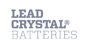 lead crystal batteries logo
