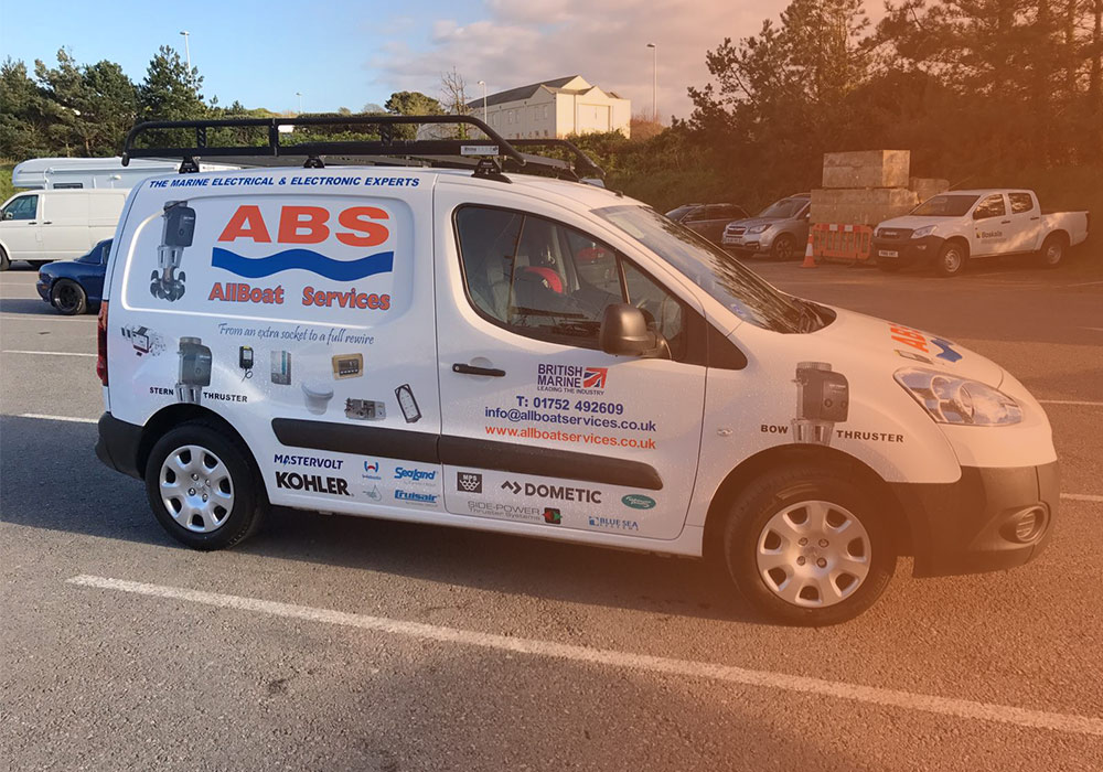 mobile marine electrics installation service