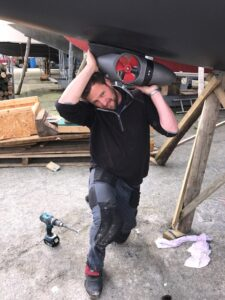 ABS fitted my EX Series Bow Thruster - EXCELLENT!